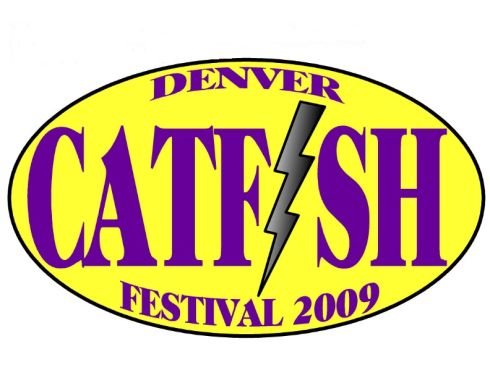 The Seventh Annual Denver Catfish Festival Logo.